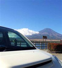 晴れたので富士山