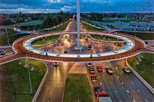 これは走ってみたい…オランダにある世界初の自転車ロータリー「ラウンドアバウト」が美しすぎる らばQ