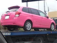 トヨタさんはピンクがお好き?