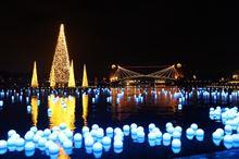 【いきいき富山】 富岩運河環水公園に天の川出現!? 幻想的な光に心染まる夜