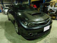 インプレッサ(GRB)に車高調取り付け!(2013年11月4日のピットロードM)