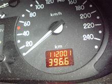 燃費記録を更新しました!158回目