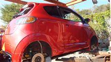 タイヤ交換とアライメント調整 そしてガレージオフのお知らせです。