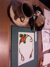 ロマン通信2013(421)「グラスアートでフレームを作る」