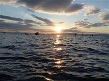 琵琶湖は今日も風
