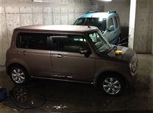 カングーとラパンの洗車