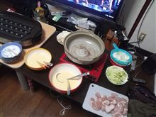 たこ焼き&鍋パーティー!