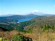 箱根 大観山から富士を見る。