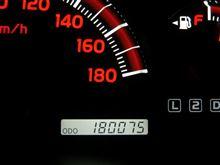 18万キロ通過