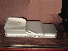 RB25DEなどをハコスカやS30Zなどに搭載する時に使うアルミ鋳造オイルパン