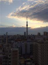 東京から。
