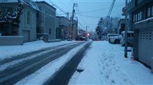 いきなり大雪です(>_<)