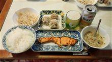鮭+焼売+納豆