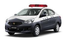 山形県警 ミツビシ アトラージュ 警ら用 パトカー !? ・・・・