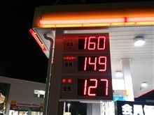 ガソリン価格11/30