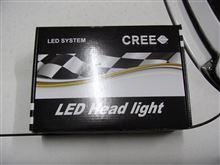 MR-S LEDヘッドライトにしました。