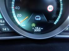 V40 購入3000km走行後のインプレ