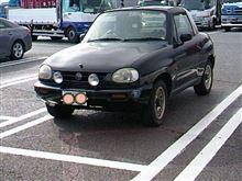 こないだ八ヶ岳P.Aにて、発見したレアな車両。