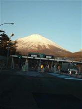 真っ白 富士山