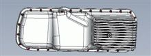 RB25DEなどをハコスカやS30Zなどに搭載する時に使うアルミ鋳造オイルパン その2