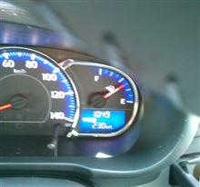 とりあえず、リッター23.0km/hr