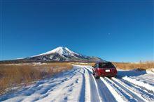 2013年最後の富士山