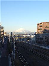 今日富士山。13,12,24