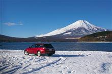 富士山雪道ドライブ 花の都公園~三国峠パノラマ台
