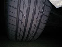 タイヤが変わると…(。-∀-)