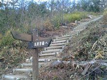 1234段の急階段を直登する登山コース(`´)