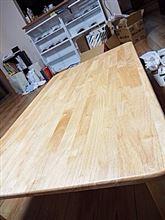 テーブル買いました