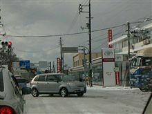 松江市内は渋滞です~