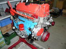 レストア作業(29版)エンジンは大体完成。