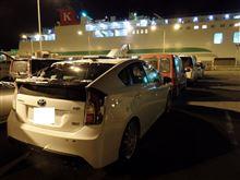 単身赴任先の青森から、札幌へ帰省 ♪  プリウスG's で 「 上陸 」 だァ~