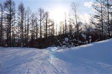 久々スキー