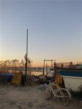 今年最後の朝ポタ(江戸川へ)