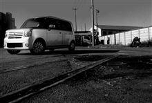 鉄路…僅かに残る