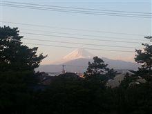今年最後の富士山  131231