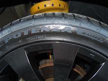タイヤとホイールを替えました