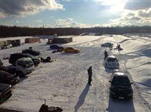 2014走り始めと雪上カート