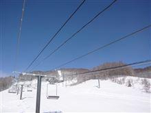 スキーの特訓