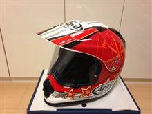 アフリカ用ヘルメット新調