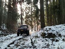 リベンジの雪中へ☆