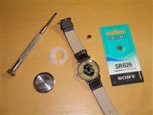 王子の腕時計、電池交換。