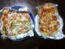 おけち餅ピザ、焼けました。
