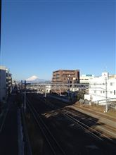 今日富士山。14,1,19