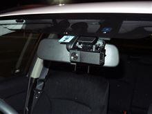 スバル純正ドライブレコーダーを装着