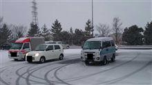 今シーズンの初雪走行♪