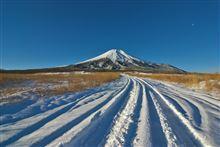 昨年12月22日の富士山雪道ドライブをアップ