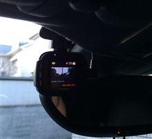 ドライブレコーダーの装着 Yupiteru DRY-mini1